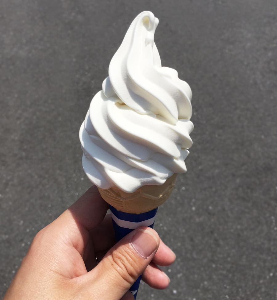 ラームー豊橋店ソフトクリーム