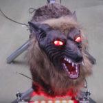 山梨県で狼ロボット「モンスターウルフ導入?!」
