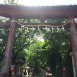 バイクで!「鷲宮神社」(らきすたの聖地)