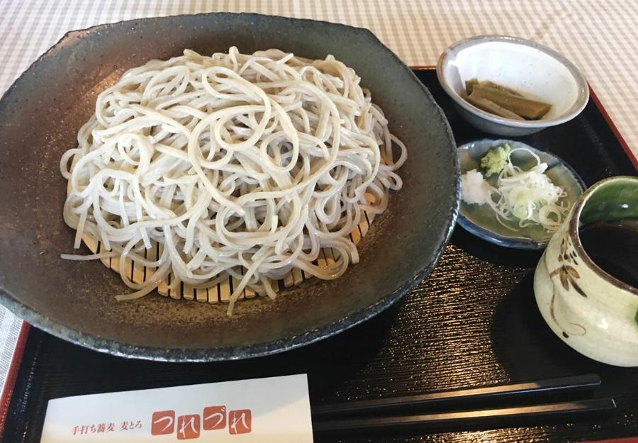 豊川市蕎麦つれづれ大盛り