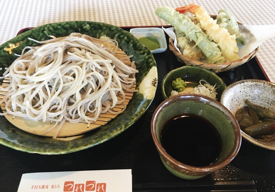 豊川蕎麦つれづれ天ぷら