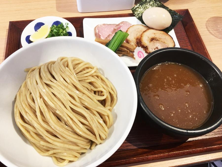 豊橋ラーメン歩く花のつけ麺