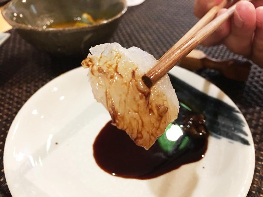 雲仙の刺身を食べてみた